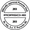 Officially approved Porsche Club 203